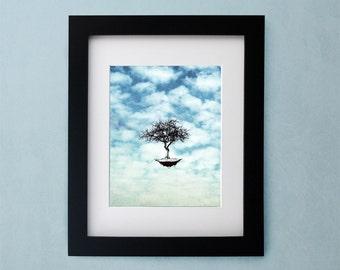 un jour sans memoire - Lustre Digital Art Print