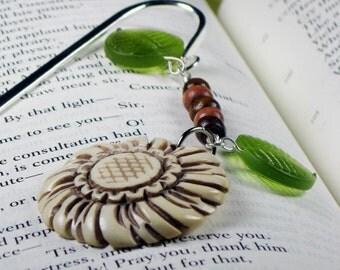 Clytie Sunflower Bookmark