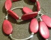Redwood Bracelet Set and Earrings