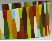 Women's Earth Toned Multicolored Fabric Headband