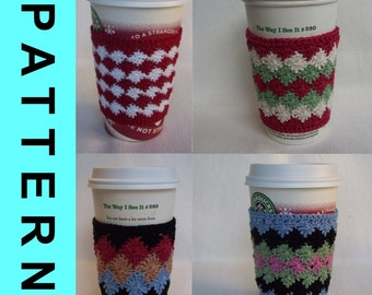 Crochet Pattern - Thread Cup Cozies