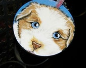 Christmas Ornament Pet Portrait/magnet - Custom