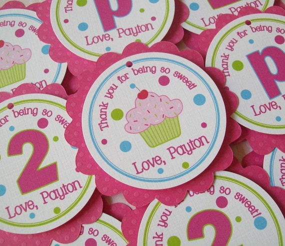 BIG Party Favor Tags- choose any theme from my shop or create your own