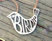 CUSTOM ORDER // Acrylic Birdie Necklace