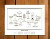 Mycologist (Mushroom) Field Guide (Print)