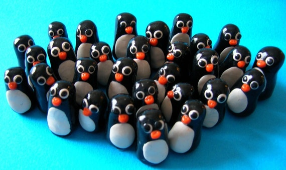 Super Mini Penguins - Set of 10