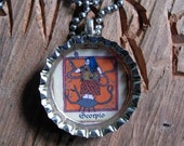 Zodiac Birth Signs Bottle Cap Necklace - - What's Your Sign