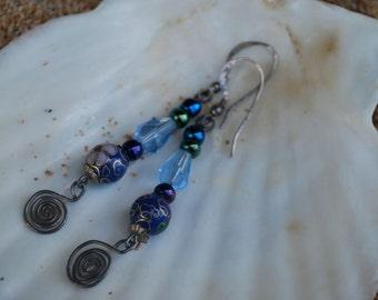 Cloisonné Earrings
