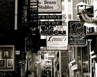 The Old Printer's Alley - 8x10 Photographic Print - Published Photograph
