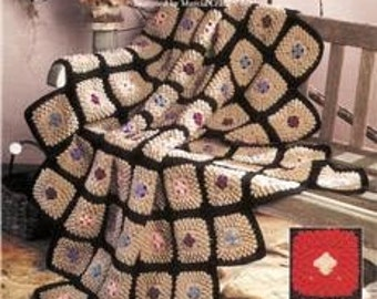 Jewels in the Sand - TNS Afghan Collector's Series 1993