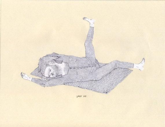 Yoga Mat (original drawing)