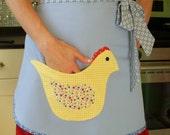 BBQ Apron: Handmade Chicken Pocket