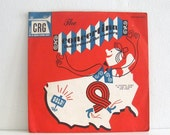 Vintage Childrens Record Guild Concertina Vinyl Album 78 rpm crg