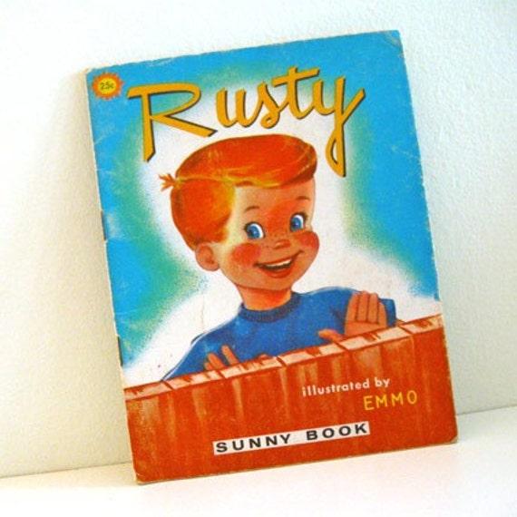 1969 Vintage Children's Sunny Book Rusty