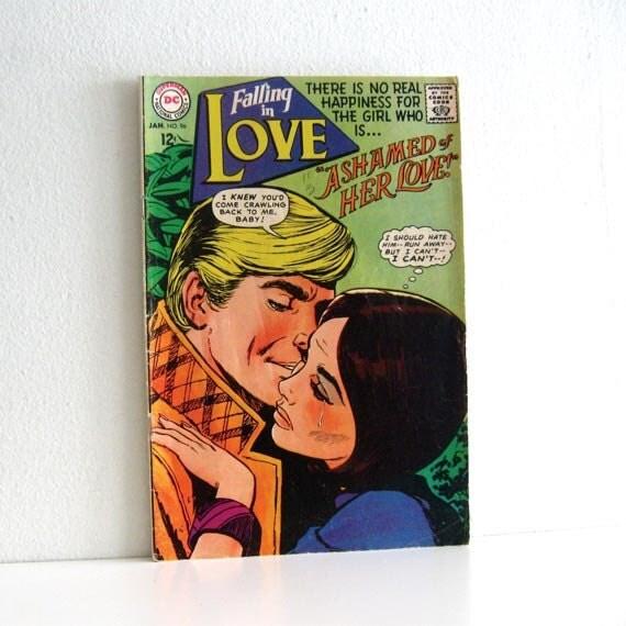Vintage Comic Magazine 1960s Romance Charlton Falling in Love
