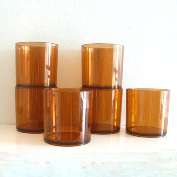6 Vintage Mid Century Dansk Designs Cups