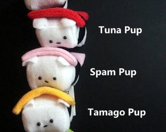 Your choice Mini Sushi Pup Plush Dog Your choice