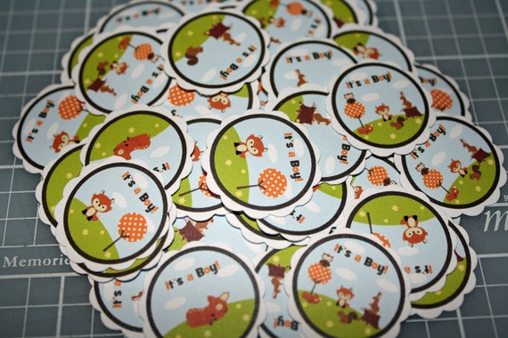 Forest Friends Table Confetti / Woodland Animal Confetti / Forest Animal Confetti / Forest Friends Baby Shower / Woodland Baby Shower