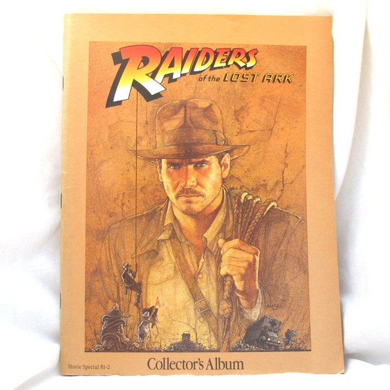 RESERVED FOR BEATRIZ - Raiders of The Lost Ark Collectors Album, Storybook, Bonus Zines