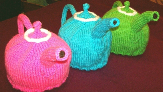 Knitted Teapot Hat PATTERN