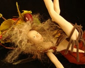 OOAK Surprized Wood Fae