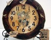 Fairy Clock OOAK