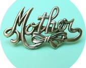 Mother Ring, Mother's Day mom silver gold