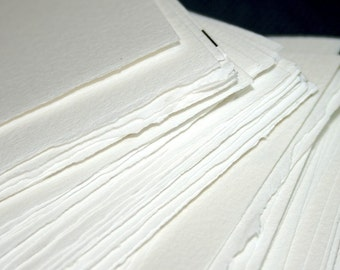 SALE - 10% OFF - Half-Pound of Paper -  Arches 90 lb. Watercolor Paper Blanks - Supplies