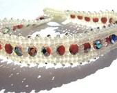 Romance, Beadwoven Bracelet