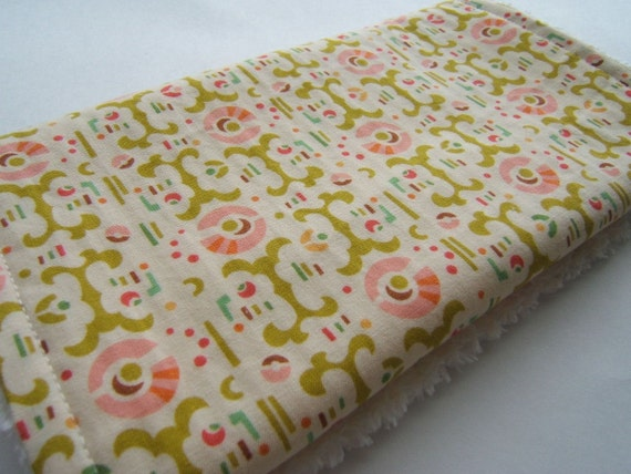 Lollipop Garden Burp Cloth