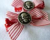 Sweet Striped Skulls