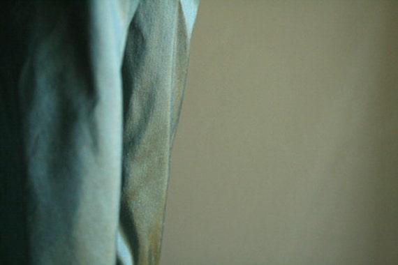 "DUCKEGG BLUE SILK fabric. 50cm x 137cm (20""x54""). supplies by runningthreads"