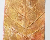 ACEO  Autumn Leaf