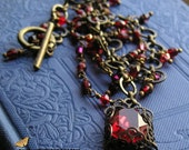 OLD RED - Vintage Necklace by ATHOUSANDNONEDREAMS