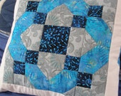 Quilted Pillow Cover, 16 Inch