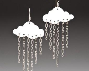 small rain clouds
