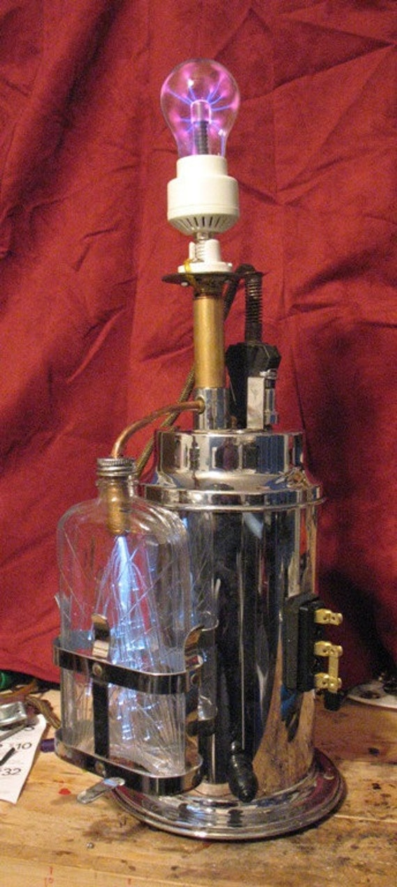 The Mad Scientist's Lamp