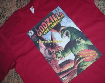 Old School Godzilla Bagorah Shirt