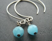 Blue Fish, Triplicity Earrings
