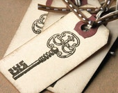 Antique Style Key Tags