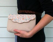 The Clementine Clutch--RESERVED FOR ALLISON
