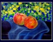 Apples - Still Life 9 x 12 inches