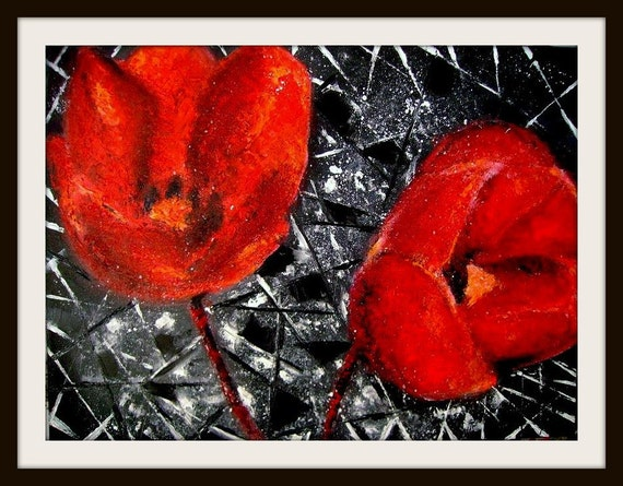 Opium - Original Oil Painting -  24 by 18 inches