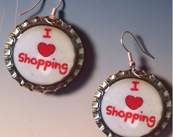 Earrings  I Love Shopping