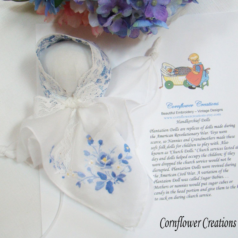 Handkerchief Doll Church Doll By Cornflowercreations