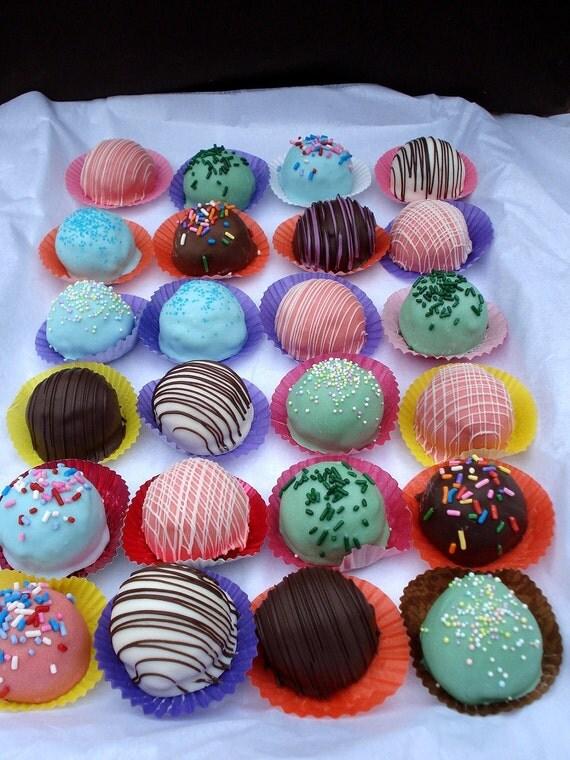 Cake Balls: Sampler Pack of Bitty Bites