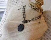 Maiden with Birds Victorian Goth Vintage Neo Victorian Womens Jewelry
