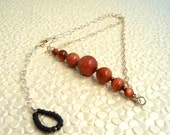 Goldstone Graduated Necklace