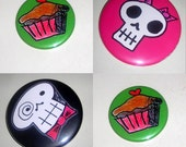 Pick 3  Any 3 Pins, Buttons, Badges