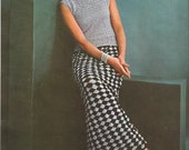 Crochet Evening Skirt and Shell - Sleeveless Top - Holiday Glamour - Special Occasion - PDF Pattern